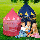 Childrens Pink Pop Up Princess Castle Play Tent Girls Indoor Outdoor Playhouse