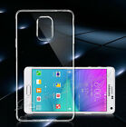 ULTRA SLIM TPU SOFT SILICONE CLEAR BACK CASE COVER FOR SAMSUNG GALAXY Note 4