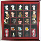 Wall Curio Cabinet Shadow Box with Glass Door, Wall Mount, solid wood, CD10