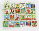 10/20pcs Christmas card Hanging Decorations For Christmas Trees Hot Decoration