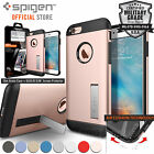 Bundle Spigen Slim Armor Dual Layer Case Cover + GLAS.tR SLIM for iPhone 6 (4.7""