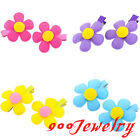 2pc Sun Flower Hair Allgator Clip Hairpin Child Student Girl Hair Accessories