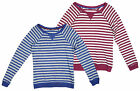 Women's Chain Store Stripe Scoop Neck Casual Cotton Slouch Top sizes 8-24 NEW
