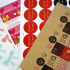 Decoration Stickers Great for Gift Wrapping Card-Making Scrapbook Home Baking