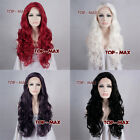 """26"""" Long Curly Stylish Women Girl Heat Resistant Style Lace Front Hair Full Wig"""