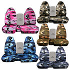 CC 91-97 FORD RANGER ARMY CAMO CAR SEAT COVERS 60-40 highback seat,CHOOSE COLOR