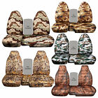 Cc 98-03 Ford Ranger Camouflage Car Seat Covers 60-40 Highback Seat,choose Color