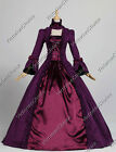 Victorian Dress Period Gown Reenactment Clothing Theatre Halloween Costume 138