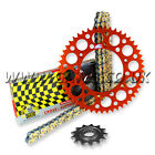 New KTM 125EXC EXC 125 Chain And Sprockets Set 1991 to 2015 Regina RX3 Renthal