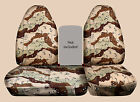 CC Ford f150 40-60 seat highback Digital camo /wetland /reeds... car seat covers