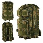 MOLLE Tactical Military Army Camoflage Assault Day Pack Sport Rucksacks Backpack