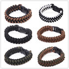Tactical 350 Paracord Parachute Cord Military Survival Bracelet camping Hiking