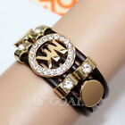 Fashion Korean Style Letter Exquisite Luxury Chain Crystal Bracelets Bangle