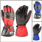 Akito Metro Waterproof Textile Leather Gloves Motorcycle Motorbike Rider Gloves