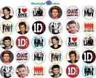 30 x One Direction Design Edible rice paper Icing Cup Cake Topper