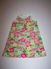 NWT GYMBOREE ISLAND LILY SHIFT DRESS PINK ALLIGATORS/LILY PRINT