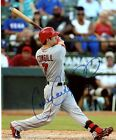 COLIN COWGILL LOS ANGELES ANGELS SIGNED AUTOGRAPHED 8X10 PHOTO W/COA