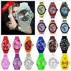 FREE P&P NEW JELLY BOYS GIRLS MENS WOMENS KIDS MANS WRIST WATCH RUBBER SILICONE