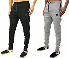 Mens Designer Foray Skinny Tapered Fit Cuffed Joggers Tracksuit Jog Pants Radar
