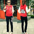 Varsity Baseball Jacket Pants Women Letters Outfits Tracksuit Sweatsuit Pockets
