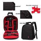 Camera Bag Lens Case Backpack Rucksack Waterproof  SLR DSLR EOS For Canon Nikon