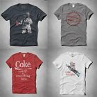NWT Abercrombie Fitch Mens Graphic Tshirt Tee Limited Edition Tee Coke Cocacola