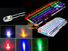 10PCS 8MM Straw Hat 0.5W LED Light Emitting Diode White Red Green Blue Yellow