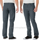 Mens Work Pants Dickies Slim Straight 5- Pockets Twill Pant WP808 Cotton Blend