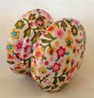 Paisley ditsy flower cute drawer pull cupboard knob bedside cabinet nursery wood