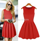 Vestido Stylish Women Summer Ruched Cocktail Party Casual Mini Cute Dress Y769