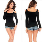 Womens Vintage Bodycon long sleeve Casual Long Tank T-Shirt Tops Mini Dress 3 co