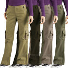 Women's Cargo Pants Dickies Women Relaxed Fit Cargo Pocket P