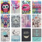 New Painted Pattern Leather Case Stand Cover For Apple Ipad Air 1/2 Ipad 2/3/4