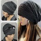 Fashion Winter Womens Mens Knit Beanie Hat Cap Warm Ski SUS