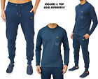 MENS DESIGNER VOI JEANS JOGGING JOG BOTTOMS COMBAT & CREW NECK TRACK TOP JUMPER