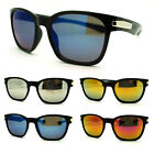 Mens Sport Fashion Sunglasses with Color Mirror Reflective Lens