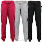 Ladies Jogging Bottoms Womens Diamante Studs Cuffed Running Trousers Gym New