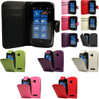Flip Pu Leather Flip Case Wallet Cover For The Nokia Lumia 610