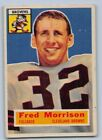 1956  FRED MORRISON - Topps Football Card # 81 - CLEVELAND BRONS