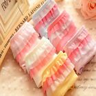 Fashion Rainbow Ruffle Lace Briefs Womens Panties Cotton Underwear Underpants