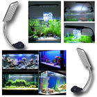 UK New Aquarium Fish Tank Clip lamp Flexible LED light Multi-mode Blue and white