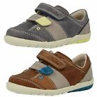 Boys Clarks First Leather Walking Shoes - Softly Mac