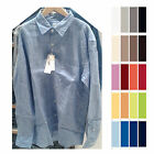 UNIQLO Men PREMIUM LINEN LONG SLEEVE SHIRT Choose Colors NEW 133521