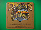 Beer Bar COASTER  FOUR PEAKS Brewing Co Hefeweizen Wheat Ale  Tempe ARIZONA