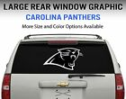 Carolina Panthers Window Decal Graphic Sticker Car Truck SUV - Choose Size