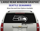 Seattle Seahawks Window Decal Graphic Sticker Car Truck SUV - Choose Size $23.95 USD on eBay