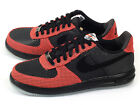 Nike Lunar Force 1 '14 TXT Classic Lifestyle Shoes Black/Red Textile 706504-002