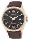 Citizen Eco-Drive Radio Controlled Sapphire Japan Leather Men's Watch CB0018-19W