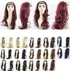 "NEW  24"" HALF HEAD  REVERSIBLE WIG HAIR PIECE EXT 1/2 HEAD IN 12  COLOURS"