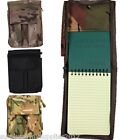 MILITARY A6 FOLDER NOTEBOOK ARMY CADET MTP BTP NOTEPAD HOLDER CAMPING HIKING